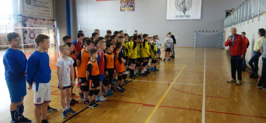Mini siatkówka - 3 turniej ligowy !
